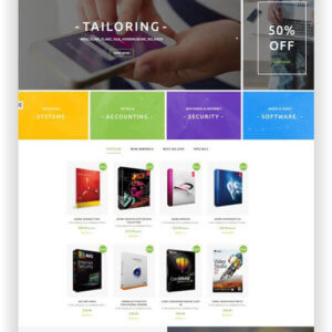 PrestaShop Software Onlinestore Thema