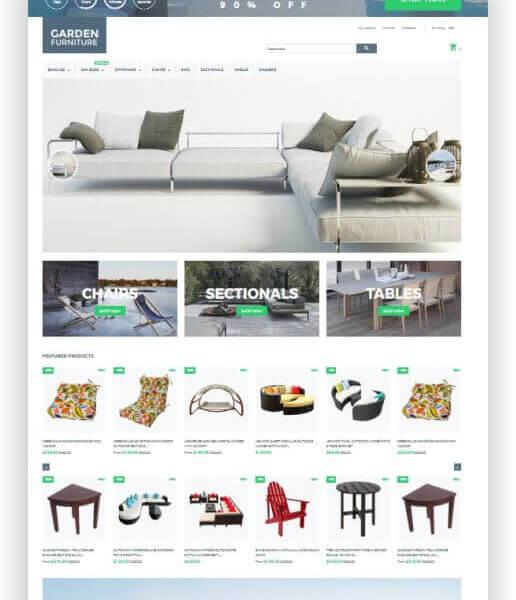 Shopify Möbel Shop Thema