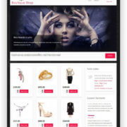 VirtueMart Boutique Shop Template