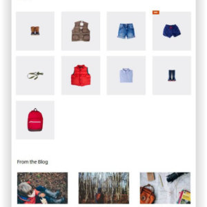 WooCommerce Outfitter Store Thema