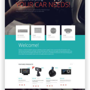 WooCommerce CarAudio Thema