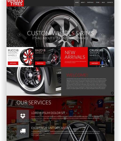 WooCommerce Felgen und Reifen Shop