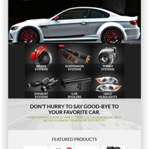 WooCommerce Autotuning Shop Thema