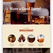 WordPress Bier Thema