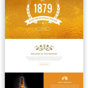 WordPress Brauhaus Thema