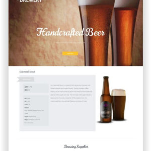 WordPress Brauerei Thema