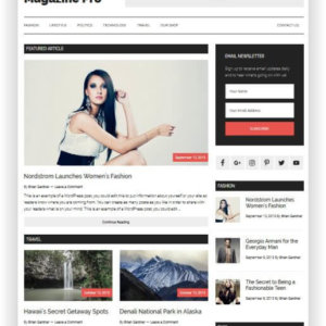 WordPress Magazine Pro Thema