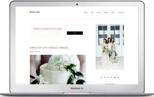 WordPress Firmenwebseite