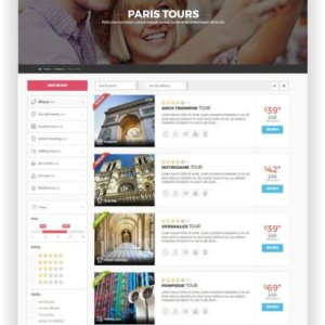 HTML5 City Tours Thema