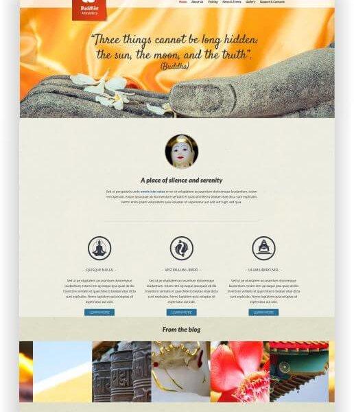Joomla Buddhismus Webseite
