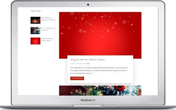Joomla Weihnachts Template