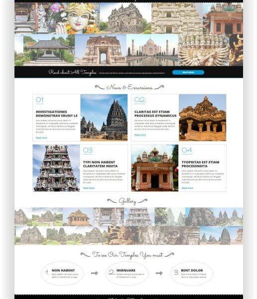 Joomla Hinduismus Template