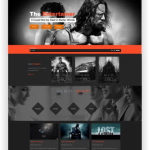 Joomla Template für Movies
