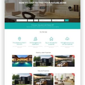 Immobilien Thema WordPress