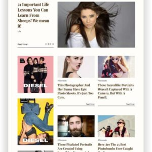 WordPress Portfolio Magazin Thema