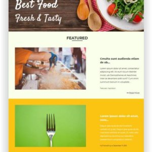 WordPress Rezept Magazin