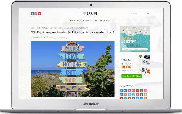 WordPress Reise Magazin Lifestyle