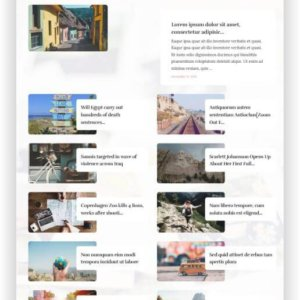 WordPress Reise Magazin Lifestyle