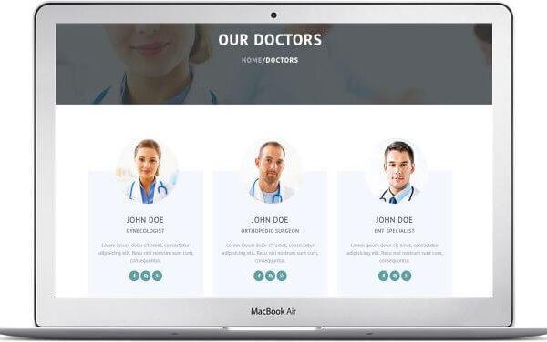 HTML Gesundheits Template