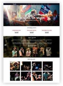 HTML5 Musik Band Template