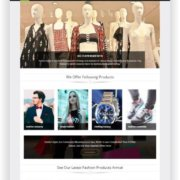 WooCommerce Fashion Onlineshop Thema