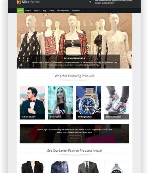 WooCommerce Fashion Onlineshop Thema