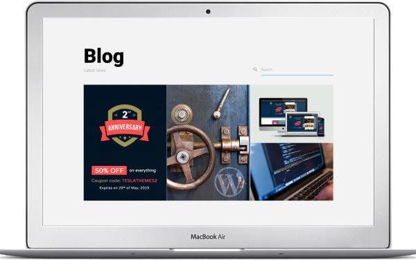 WordPress Blog Portfolio Theme