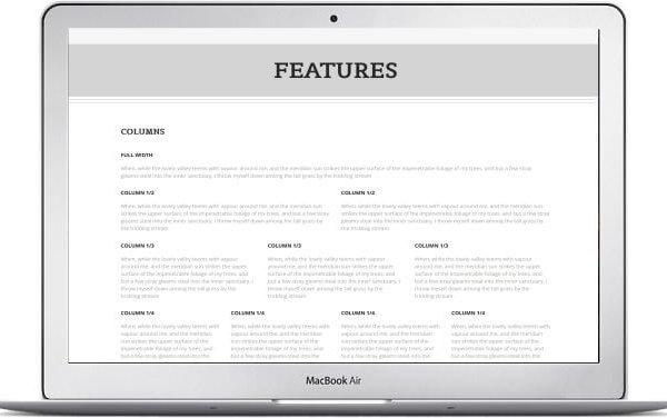 Responsives WordPress Blog Thema