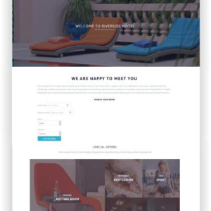 WordPress Hotel und Resort Theme