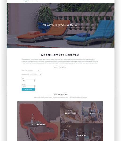 WordPress Hotel und Resort Theme