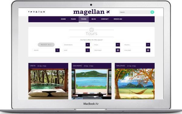 Reisveranstalter Webseite erstellen