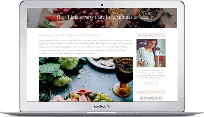 Wordpress Rezept Blog Template Mit Wp Ultimate Rezept Plugin