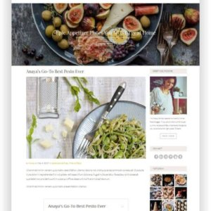 WordPress Rezept Blog Template