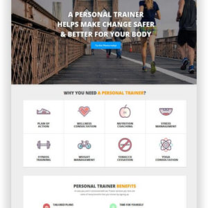 WordPress Personal Trainer Thema