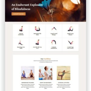 WordPress Yoga Thema