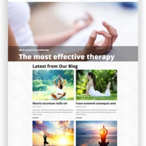 Yoga Webseite WordPress