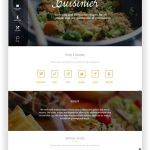 WordPress Rezeptblog Theme