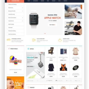 Magento Onlineshop Template