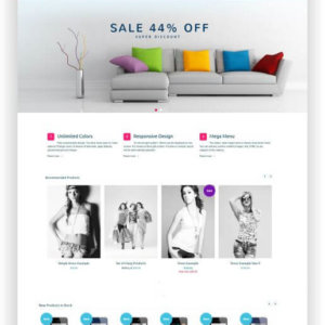 "Magento Turbo Multitheme ""Fortis"""