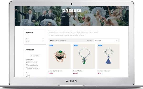 PrestaShop Gratis Multitheme