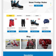 PrestaShop Hockey Store Thema