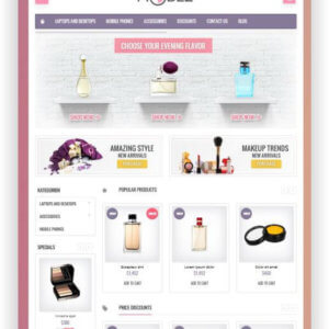 PrestaShop Kosmetik Shop Thema