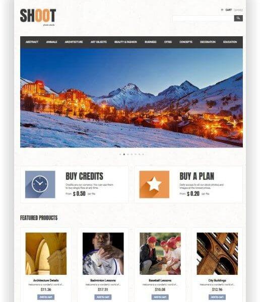 Foto und Video Webseite
