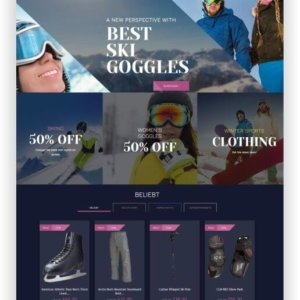PrestaShop Wintersport Thema
