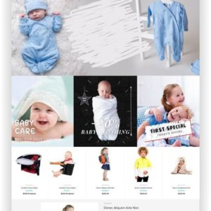 Shopify Babyshop Theme