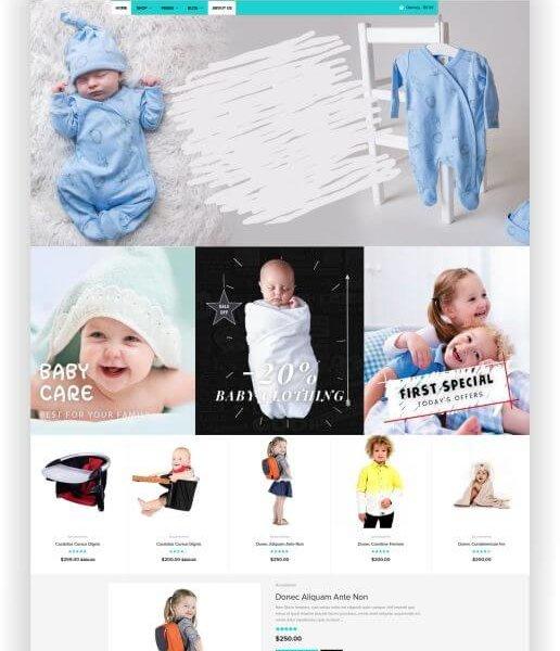 Shopify Babyshop Theme