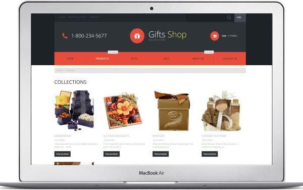 Shopify Geschenkshop Thema