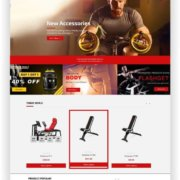 Shopify Gym Shop Thema