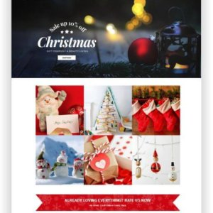 Shopify Weihnachts Shop Thema