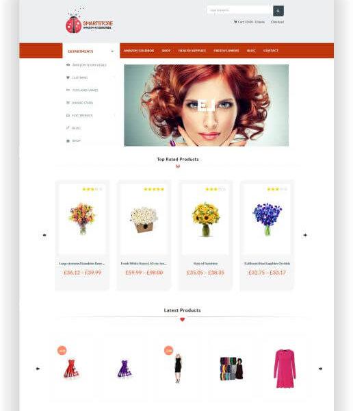 WooCommerce Amazon Affiliate Shop Thema